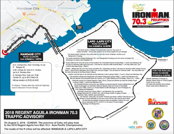 ironman route 2018